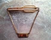 Vintage Swank Tie Clip  Men's Jewelry Figaro