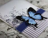 Blue Mountain Butterfly Wedding Invitation Suite DP-NTR-02