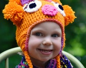 MADE TO ORDER- Zoe Earflap Hat