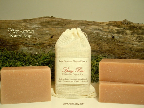 Spicy Rose Organic Soap