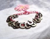 Upcycled Bracelet Vintage Washers