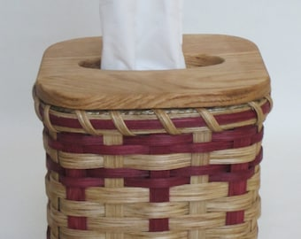Tissue Basket / Tissue Box / Handwoven Basket