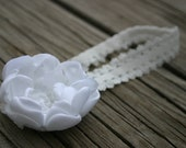 Fancy Baby Headband / Adult Headband, Hairclip, or Brooch / Special Occasion - Made to Order in Many Colors