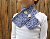 Vintage Inspired Crochet Scarf Pattern Child Size