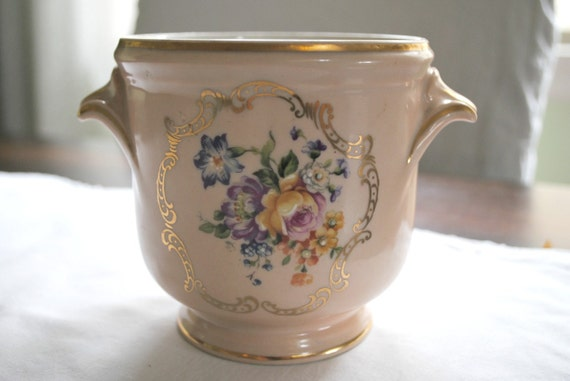Vintage Limoges French cachepot
