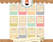 Documented 365 2013 Calendar Journaling Card Kit by Sarah Hurley Digital & Hybrid Scrapbooking / Cardmaking / Crafts