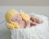 Little Miss GoldiLocks Hat Available in Newborn to Child Size- MADE TO ORDER