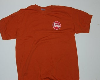 FJ40 Series Land Cruiser LandCruiser Adult Texas Orange Tshirt