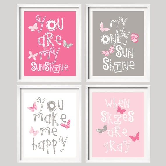 Popular Items For Nursery Decor On Etsy Baby Shower: Items Similar To Nursery Print