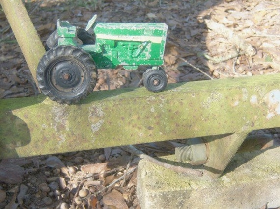 Vintage Green Acres Toy Tractor By Rockyspringsvintage On Etsy