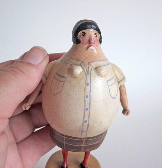 Stop It Girl 2 Miniature Art Doll Schoolgirl Kneesocks