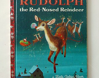 1958 Little Golden Book, Rudolph the Red-Nosed Reindeer
