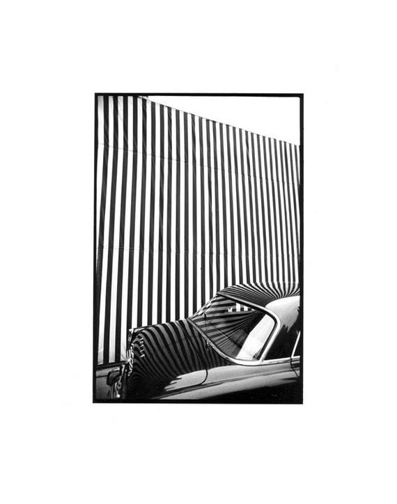 "1970's ""Striped Car"", London,"