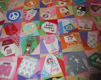Deposit for Baby Crazy T-Shirt Quilt