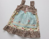 Fall Sparrow Apron Knot Dress - 12m to 4T - Ready to Ship