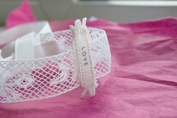 LOVE Antique Lace Bracelet