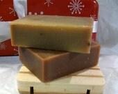Pumpkin Spice  Natural Olive Oil Soap  - Organic Ingredients