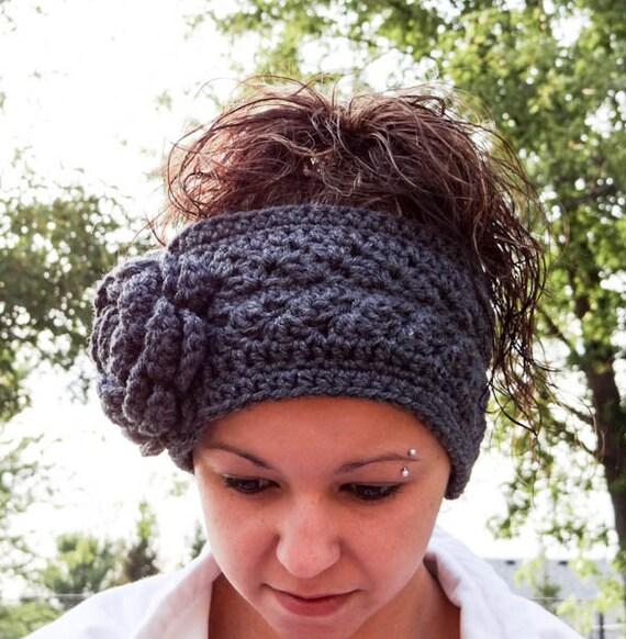 Items Similar To Crochet Headband Crochet Ear Warmer With
