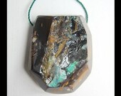 Boulder Opal Pendant Bead,26x32x12mm,21.88g