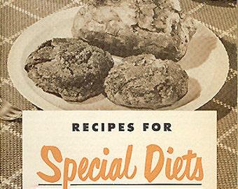 Vintage Cookbook 1950s GERBER Baby Food Recipe Booklet & Advertising Ephemera