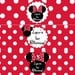 Minnie Mouse Water Bottle Labels in Red