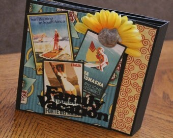 Scrapbooking Family Vacation Premade Pages Album 6x6
