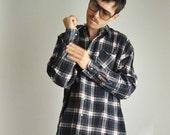 Mens Flannel Shirt Vintage