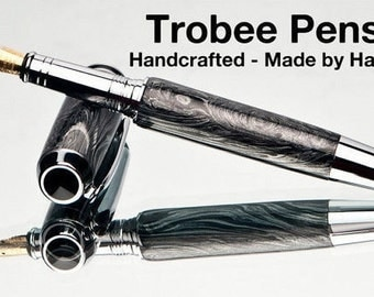 Hand Made High End Fountain Pen  - M3 metal Pen - Custom Pen  - writing instrument gift for a man gift for boss top of the line writing pen