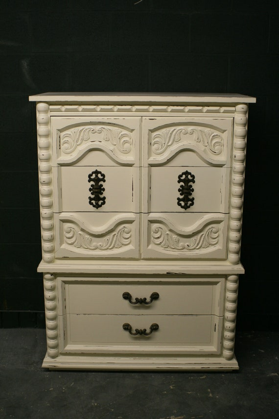 Ornate Veranda Ivory Chest