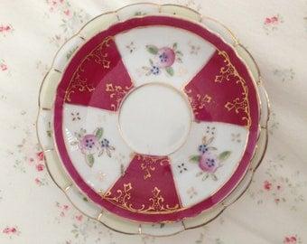 Vintage Porcelain Plate Assortment-Set of 4