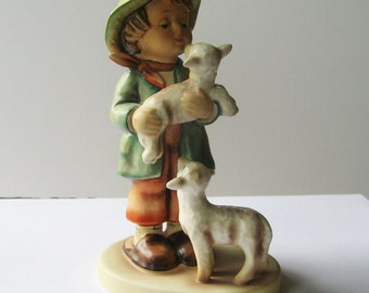 1970 Hummel Figurine 64 Shepherds Boy