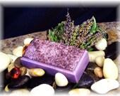 FINAL SALE Milk & Manuka Active UMF Lavender Coconut Cream 3 Butter Botanical Dry Skin Face/Body Soap