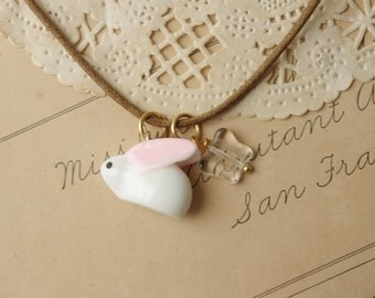 Snow Rabbit Necklace