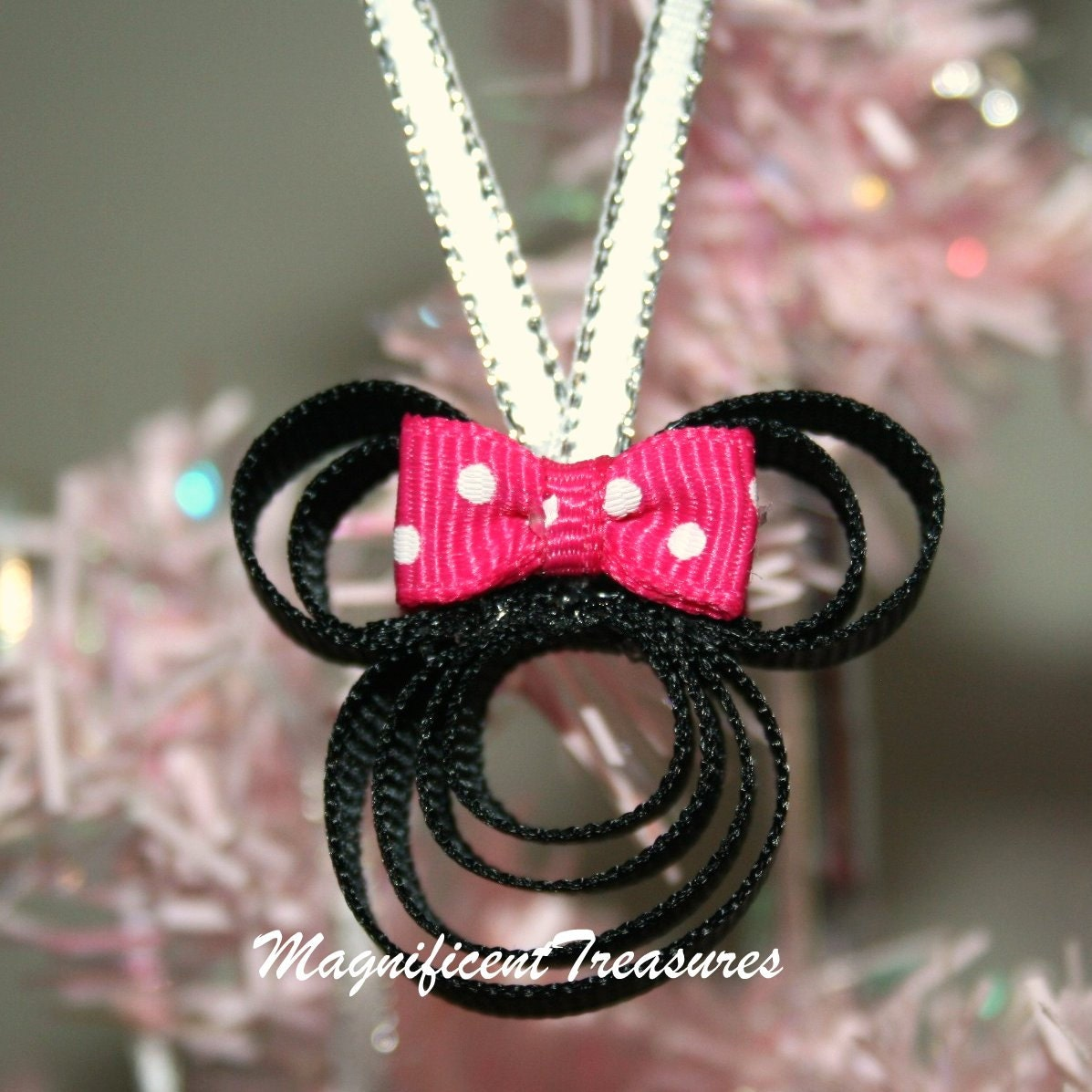Minnie mouse christmas tree ornament - Minnie mouse noel ...