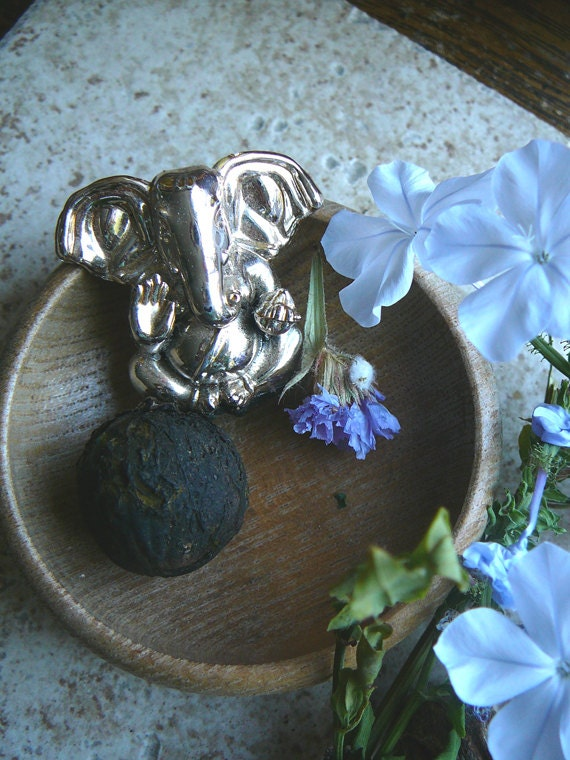 Baby Ganesh rests in his bowl. Alters, sacred spaces, meditation, yoga, india, temples
