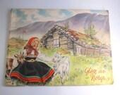 Glimpses of Norway, Glott au Norge, Beautiful Vintage Photo Book