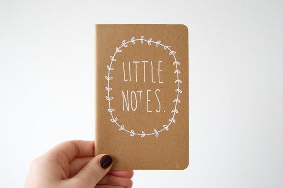 Little Notes Notebook Moleskine Plain Journal