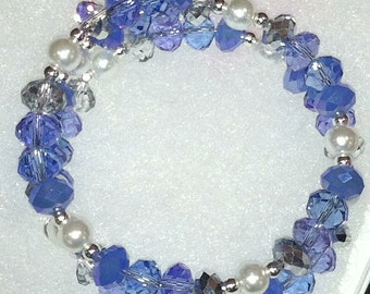 The Blues Crystal Bracelet