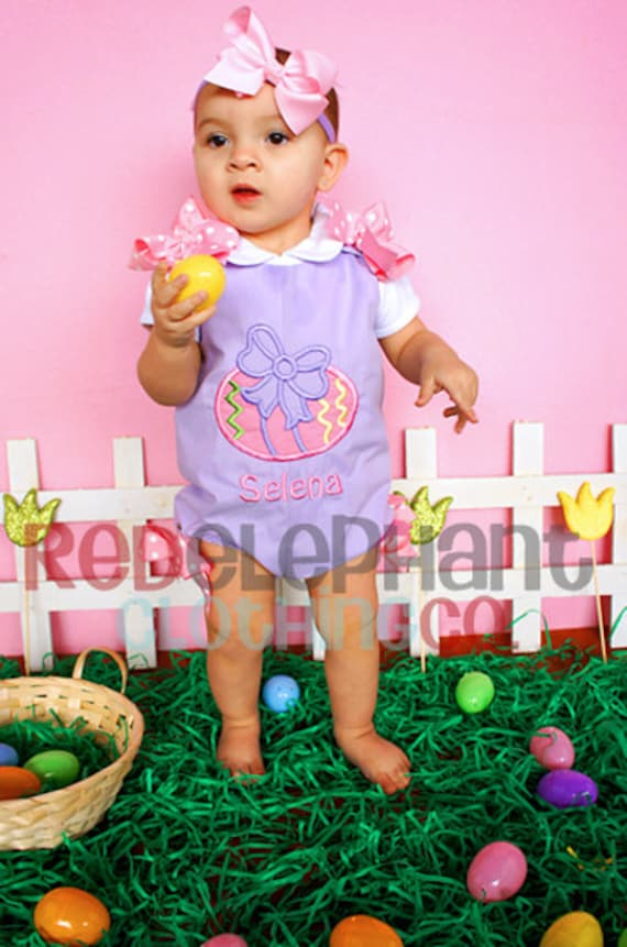 Easter Egg Bubble Romper Body Suit Easter By