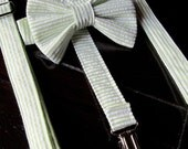 Bow Tie and Suspender Set for newborn, toddler and boys