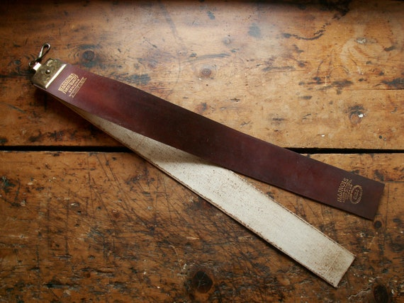 Reserved For Lisa Lei137 Vintage Double Sided Leather Razor