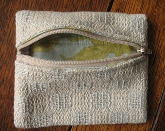 Large Handwoven Coin Purse