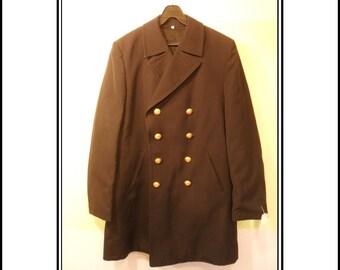 Vintage Navy Coat