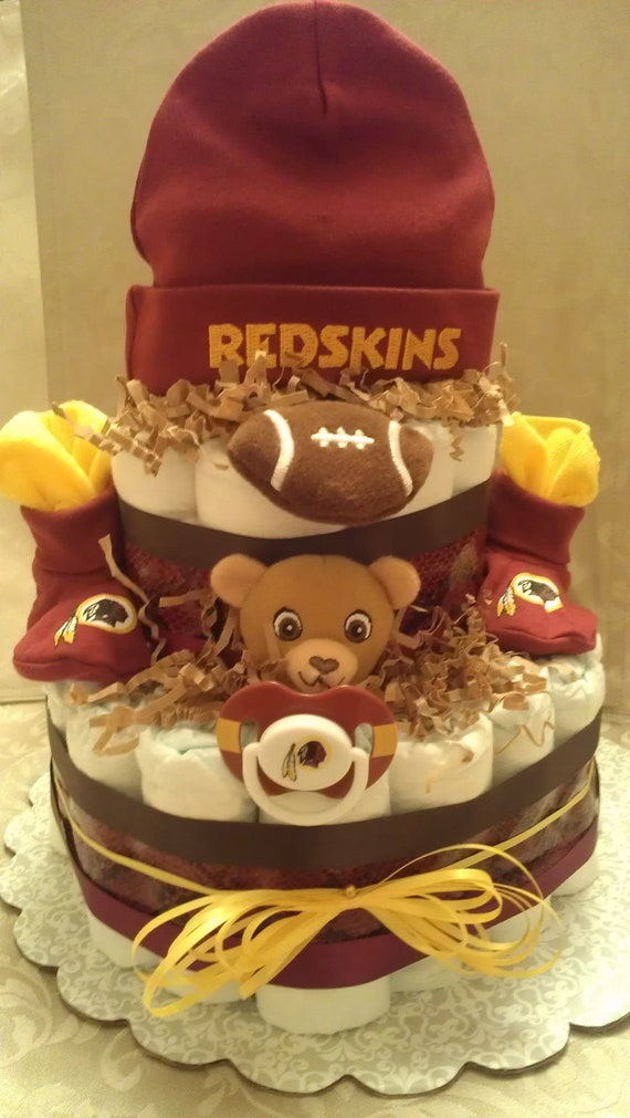 Redskins Diaper Cake By Treasuresbycrys On Etsy