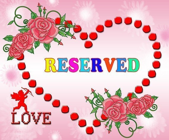 Reserved Listing for tephhh