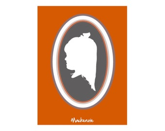 Custom Childs Cameo Portrait