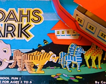 50% Off 1962 First Edition Cadaco NOAH'S ARK 3D Game