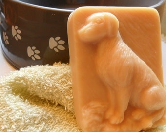 DOG SHAMPOO Bar-Tea Tree E/O-Handmade Goat Milk Soap