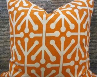 Designer Pillow Cover 12 x 18 - Tribal Mandarin -