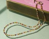 Beautiful Zirconia Multi-Colored Necklace
